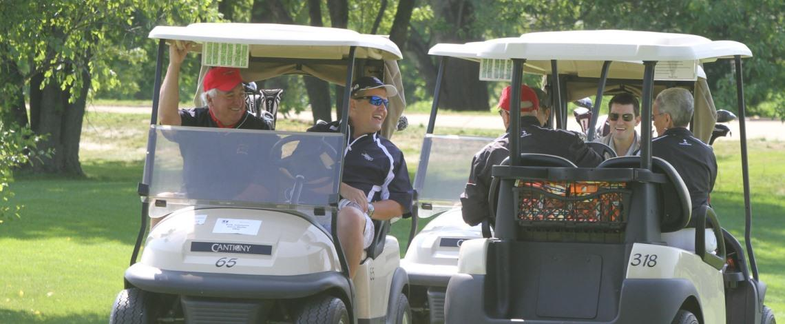 Save the date for the President's Invitational golf outing on July 27!